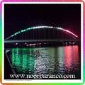 نورپردازی روی پل