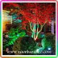 نورپردازی درختان با نور ملایم led
