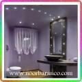 نورپردازی حمام با لامپ ال ای دی کوچک