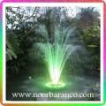 نورپردازی فواره درختی 3طبقه با چراغ ledرینگی