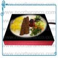 سنگ نورانی با تصویر چلوکباب مخصوص رستورانها