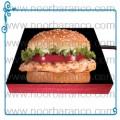 سنگ نورانی با تصویر ساندویچ همبرگر
