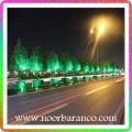 نورپردازی فضای سبز درختان بلوار