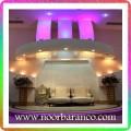 نورپردازی جایگاه عروس و داماد