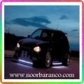 نورپردازی زیر ماشین با نور سفید