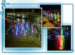 پروژه چراغ LED ضد آب مخصوص فواره
