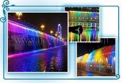 پروژه وال واشر LED ضد آب